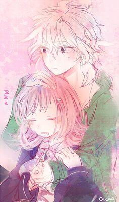 Chiaki and Komaeda