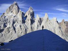 Summit ridge of El Mocho