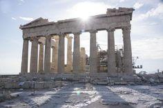 Seit Winckelmann ein Sehnsuchtsziel humanistischer Deutscher: die Akropolis