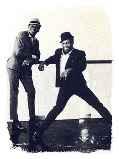 SIXTIES BEAT: Sam And Dave   Original Rude Boys, I LOVE those HATS!