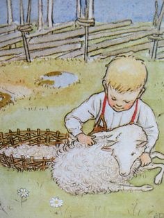 Pelle's New Suit by Elsa Beskow was first published in 1912 in Sweden and has been reprinted many times since.