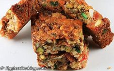 Eggless Fruit and Nuts Bars More