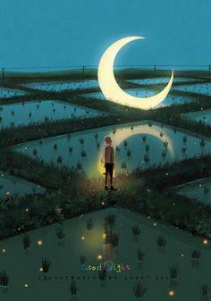 < Moon Art >