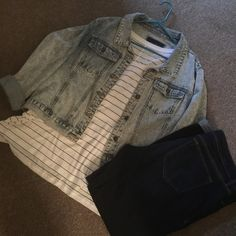 Forever 21 LightWash Jean Jacket Size 3x Forever 21 LightWash Jean Jacket Size 3x. So Trendy!  Perfect with maxi dresses, jeans, and even pencil skirts to dress it down. Forever 21 Jackets & Coats Jean Jackets