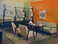 """mid century modern 1958 """"Kultur im Heim"""" from: diePuppenstubensammlerin"""