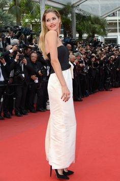Doutzen Kroes in Dior. See all the best looks from the 2015 Cannes Film Festival.