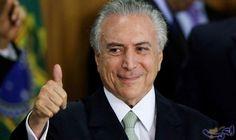 """المتظاهرون البرازيليون يطالبون الرئيس """"ميشيل تامر"""" بالرحيل: تجمع البرازيليون أمس الأحد في مظاهرة في ساوباولو لمطالبة الرئيس ميشيل تامر…"""