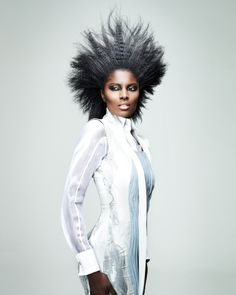 We tell you all you need to know about afro hair. Hair by Craig Chapman. #prohairbeauty