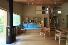 大山の森の別荘|横内敏人建築設計事務所