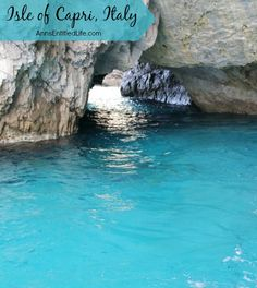 Isle of Capri, Italy; beautiful vacation photos from our time on the island of Capri. http://www.annsentitledlife.com/travel/isle-of-capri-italy/