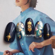 夏/女子会/海/リゾート/ハンド - GraceNailのネイルデザイン[No.3330881]|ネイルブック