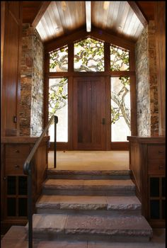 beach house entrance idea