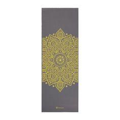 Gaiam Premium Citron Sundial Yoga Mat (full length) | 5mm