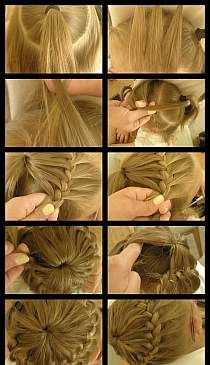 French style save!) hair pleat pinterest