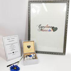Serduszkowa księga gości w srebrnej ramie💙  #księgagości #ksiegagosci #pamiątka #ślub #wesele #paramłoda #wesele2019 #ślub2019 #weselnyklimat #love #heart #pobieramysie #lasercut #gravergifts