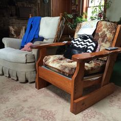 His & Hers chairs in this basement! #myparentsbasement