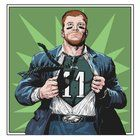 awesome My friend, also an eagles fan, draws and she is really talented. She just made this: CLARK Wentz. The superhero of Philly