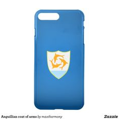 Anguillian coat of arms iPhone 7 plus case