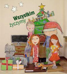 Wesołych Świąt!! Praca wykonana przez dzieci w wieku 7-12 lat