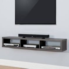 wall unit for cable box - Google Search