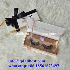 Hot Selling High Quality 100% Handmade 3D Mink Lashes With Custom Eyelash Packaging