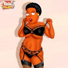 Cleveland mom try on lingerie. Cleveland Show, Adult Cartoons, Cartoon Network, Pin Up, Family Guy, Wonder Woman, Superhero, Disney Princess, Disney Characters
