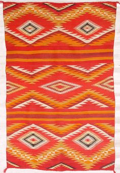 Vintage Navajo blanket:  I would love to find vintage Navajo blankets like this to reupholster some old chairs of mine!
