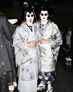 Thom Browne SS16 Men Fashion Show Paris Backstage   Sonny Vandevelde