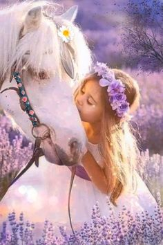 There's nothing more pure than the souls of animals and children 💞🌸💜 Beautiful Fantasy Art, Beautiful Gif, Most Beautiful Faces, Have A Beautiful Day, Beautiful Children, Beautiful Flowers, Beautiful Angels Pictures, Lovely Good Morning Images, Good Morning Gif