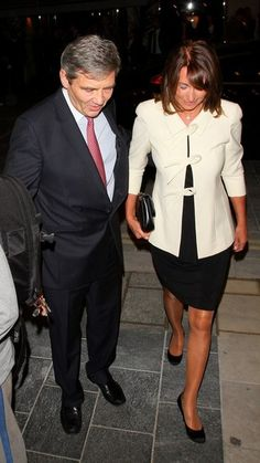 Carole Middleton - Carole and Michael Middleton attend a gala performance of Venezuela Viva in London. October 11, 2011