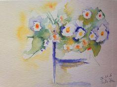 Aquarell- Kunstdruck Blumenstrauß Blumen Kunst Bild Malerei | Antiquitäten & Kunst, Kunst, Kunstdrucke / Poster | eBay!