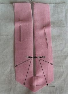 Sewing Techniques 479985272768935551 - Coupe Couture : Fente simple ou fente capucin Source by Sewing Basics, Sewing Hacks, Sewing Tutorials, Sewing Crafts, Sewing Projects, Techniques Couture, Sewing Techniques, Dress Sewing Patterns, Clothing Patterns
