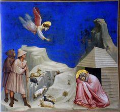Giotto - Il sogno di Gioacchino. Padova, Cappella degli Scrovegni by renzodionigi, via Flickr