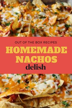 The Most Creative Nacho Recipes for Game Day We've Ever Seen The 75 Most Delish Nachos. Warning: These won't be easy to share. Mexican Dishes, Mexican Food Recipes, Beef Recipes, Cooking Recipes, Healthy Recipes, Nacho Recipes, Cooking Gadgets, Healthy Nachos, Skillet Recipes