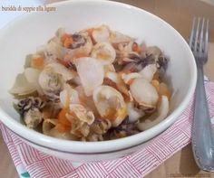 Sotto il nome di Buridda o Buridda di pesce sono compresi diversi piatti a base di pesce, tipici della cucina ligure, ricetta variabile a seconda delle zon