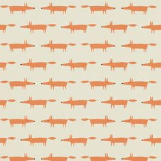 Style Library - The Premier Destination for Stylish and Quality British Design | Products | Little Fox Wallpaper (NSWA110841) | Spirit & Soul Wallpapers | By Scion