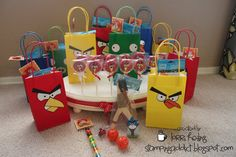 Angry bird party