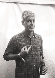"""Move. Af far as you can, as much as you can. Across the ocean, or simply across the river. Walk in someone else's shoes or at least eat their food. Open your mind, get up off the couch, move.""- Anthony Bourdain"