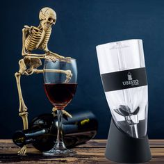 Wine Aerator Gift Set - Stylish #Wine Aerator Set with #Accessories - #Aerator with Black #Ring - Aerator Stand with Mini Holder, Aerator Base & #Travel Pouch - Elegantly Boxed - https://www.amazon.com/dp/B01CSCIAD6