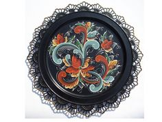 Free Rosemaling Patterns | more boring sanding and background painting which is already done for ...