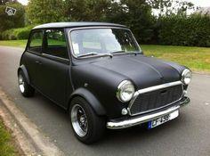 Mini Austin 1000 noir mat restaurée kit