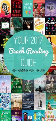 Looking for a good beach read this summer? Look no further with this list of 40+ beach reads for your beach & summer reading needs!