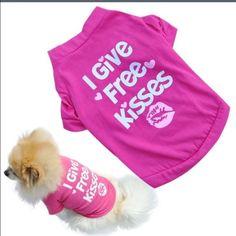 Only 1 Left ! ❤️ Dog shirt Adorable doggie Tshirt! ❤️ no trades ❤️ no Paypal Tops Tees - Short Sleeve