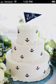 An anchor cake I love