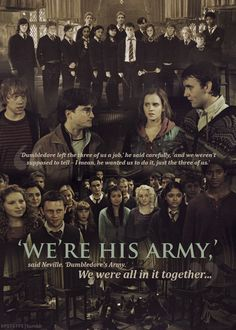 'We're His Army' - Harry Potter Stuff Harry James Potter, Blaise Harry Potter, Harry Potter Quotes, Harry Potter Books, Harry Potter Universal, Harry Potter Fandom, Harry Potter World, Hogwarts, Slytherin