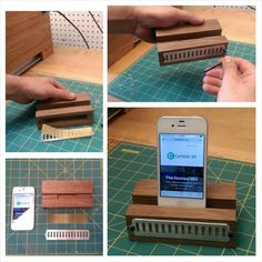Amplify your iphone with this simple Nomad883 cnc project.