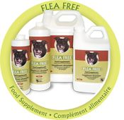 Looking for a product that will help you combat fleas and ticks?  Flea Free is a natural product and it's Canadian! Riverside Natural Pet Products has one of the best, natural products on the market. Global Pet Foods is proud to partner with a great Canadian company! Flea Free is an all natural liquid supplement, which when added to the pet's drinking water, is ingested and goes to work internally. To find out more about this product please visit your neighbourhood Global Pet Foods store.