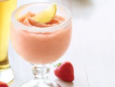 Applebees Summer Squeeze Glassware: 14 oz. Frosted Mixing Glass  2 oz. Bacardi Limon 2 Lemon Wedges 3 oz. Lemonade Mix  Fill glass heaping full with ice. Pour ingredients in order listed in recipe to 1/2″ from the top of the glass.  Garnish: Lemon wedge and strawapplebees summer squeeze - Google Search