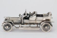 Rolls Royce Silver Ghost L 8 cm B 4 cm H 3 cm Gewicht 116 gram 835/1000 zilver