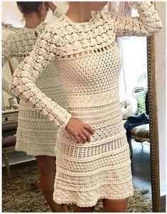 Vanessa Montoro - Vestido Teneriff cream